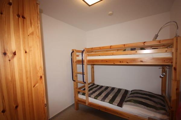 Kinderschlafzimmer mit Etagenbett