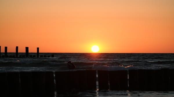 .... mit traumhaften Sonnenuntergängen!