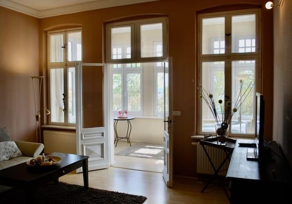 2.Blick in den Wohnraum
