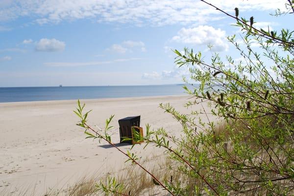 Entspannen am Strand.