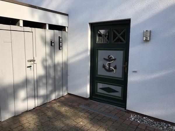 separater Eingang nur für diese Wohnung - noch mehr Privatsphäre für Sie