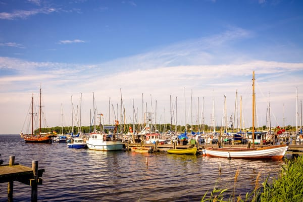 Romantisch der kleine Hafen im Ostseebad Rerik
