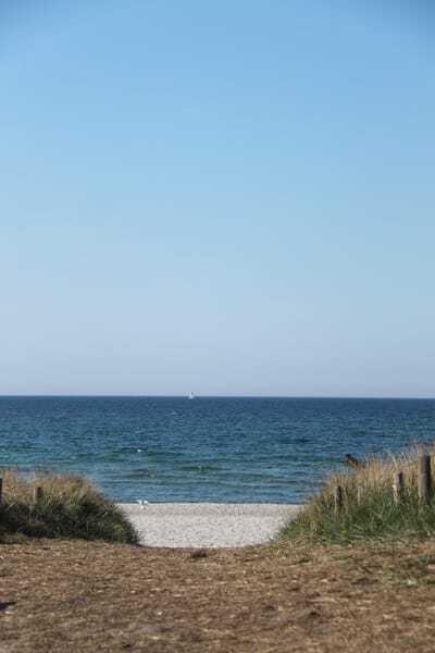 Ostsee - Strandzugang nahe der FeWo (400m)