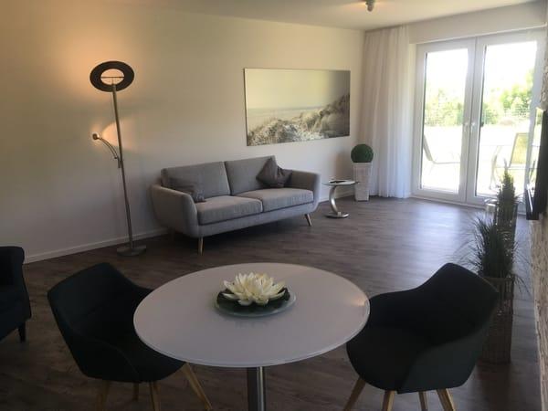 Das Wohnzimmer mit Couch zum Entspannen