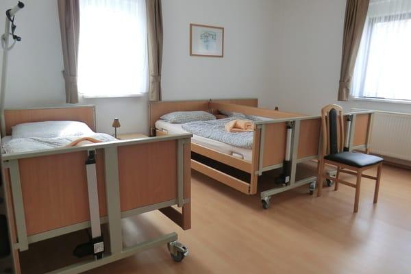Schlafzimmer grosse Rollstuhlwohnung 130 qm