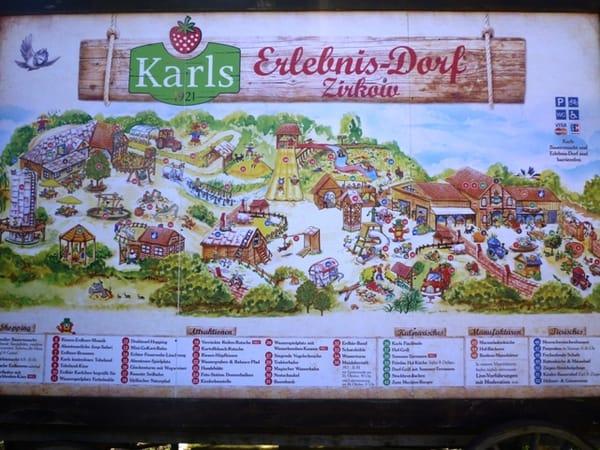 Karls Erlebnisdorf ca.7 km entfernt