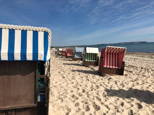 Strandkorb in Thiessow