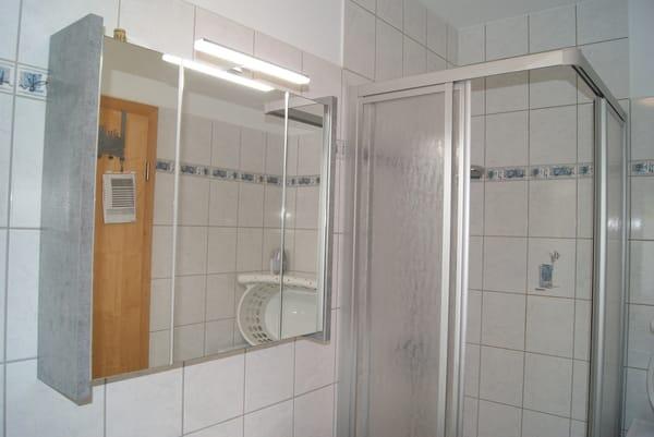 Das Duschbad.