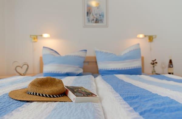 ... können bis zu vier Personen gemeinsam Ihren Urlaub in dem Appartement verbringen – und sind durch die ideale Aufteilung der Räumlichkeiten dennoch etwas für sich.