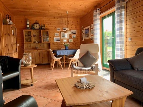 Wohnzimmer Ferienhaus Ostseezauber
