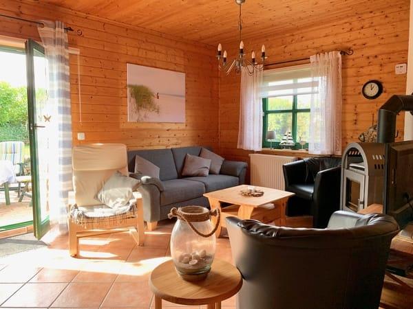 Haus Ostseezauber - Wohnzimmer