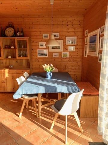 Ostseezauber - Essbereich - Salzhaff Ferienhaus