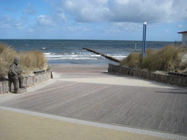 Zempiner Strandzugang