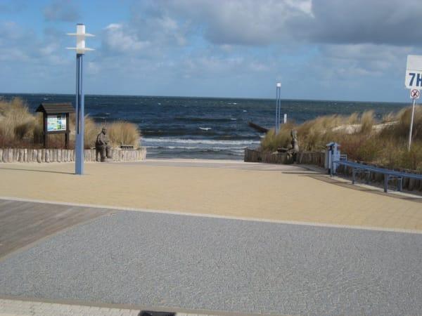 Zempiner Strandaufgang