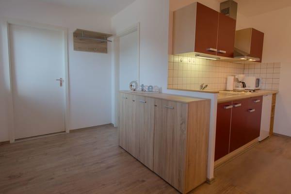 Küche / Flurbereich