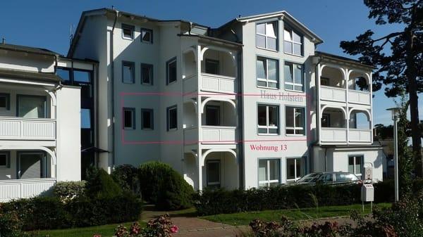 Wohnung Aussenansicht