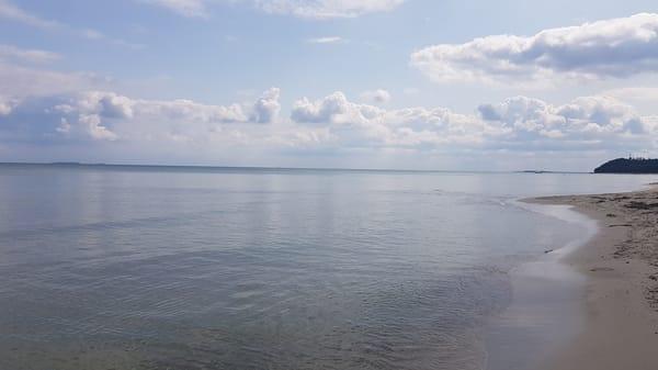 ruhige Ostsee im Ostseebad Göhren