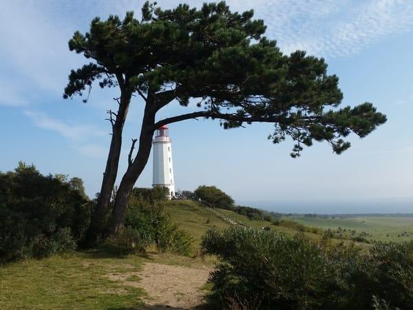 Leuchtturm auf der Insel Hiddensee