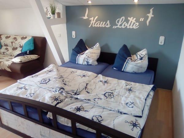 Doppelbett Zimmer Möwe