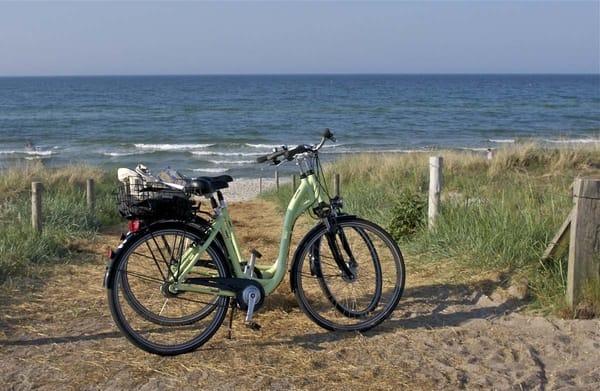 Fahrradfahren und Ostseeluft