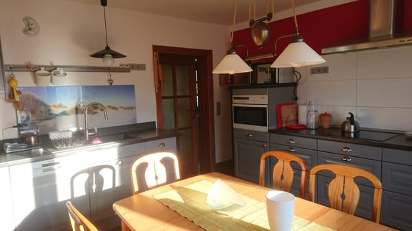 Küche, komplett ausgestattet