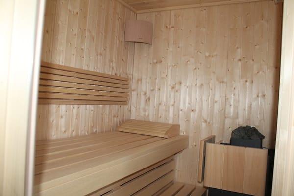 Sauna im Bad EG