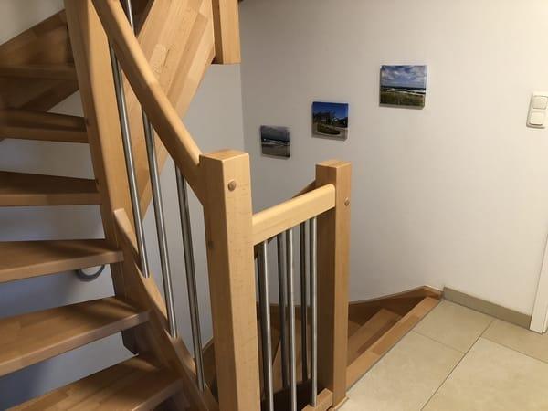Treppenbereich/ Flur im OG
