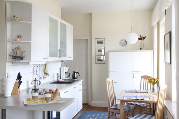 Essplatz mit Küche