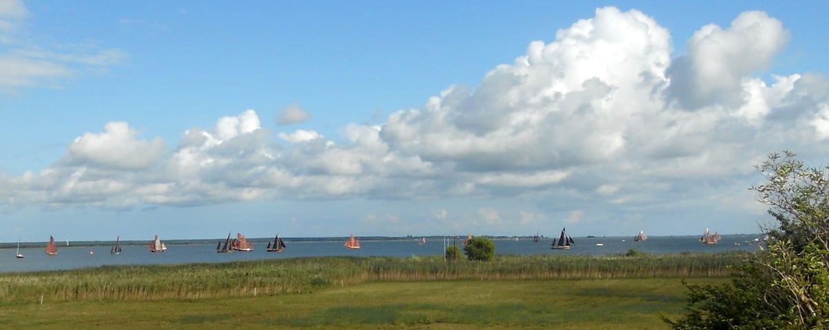 Zeesbootregatta auf dem Saaler Bodden