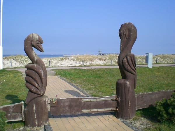 Zugang zur Promenade