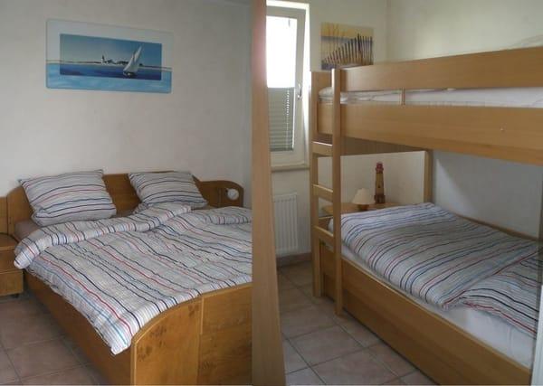 2 separate Schlafzimmer