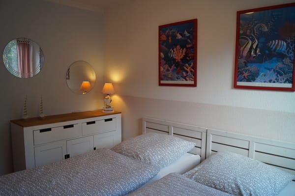 Das zweite Schlafzimmer - für ältere oder jüngere Gäste gleichermaßen geeignet