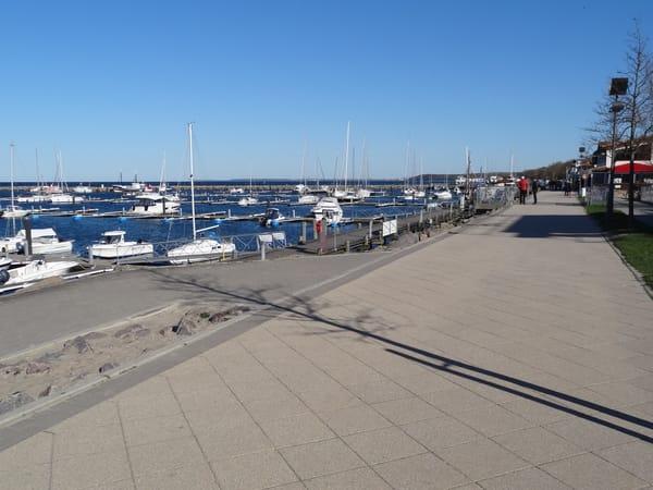 Bummelmeile am Yachthafen