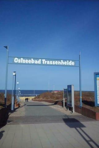 Trassenheide Strandzugang