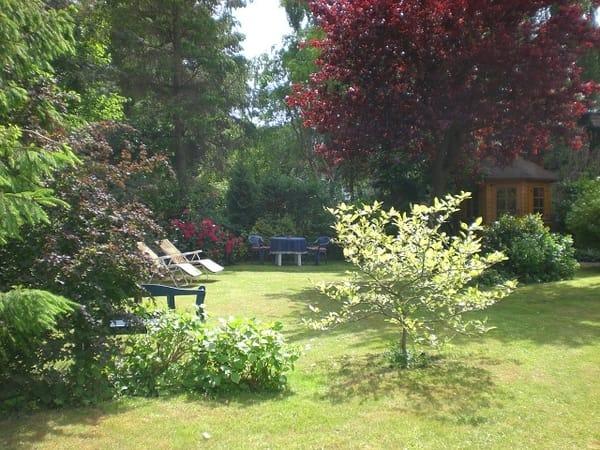 Gartenidylle zum relaxen