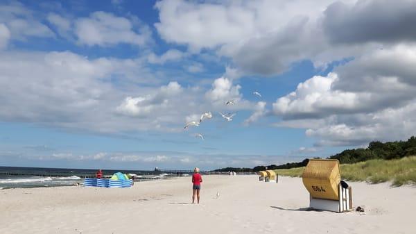 Am Strand findet jeder sein Plätzchen