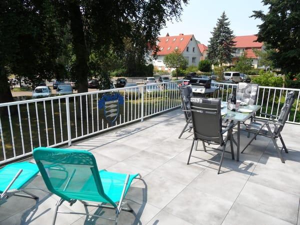30 m² Terrasse