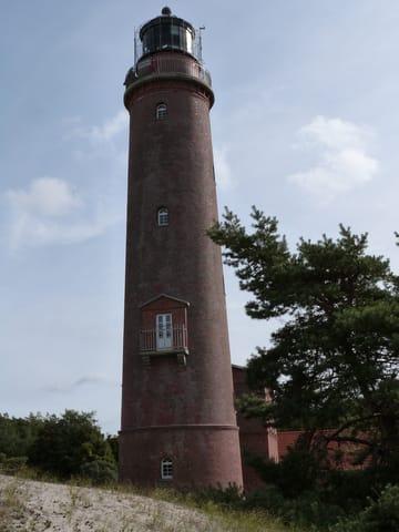 Der Leuchtturm am Darßer Ort.
