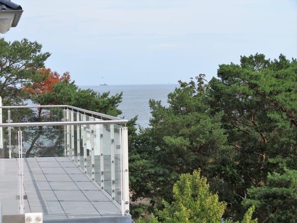 Blick Richtung Ostsee