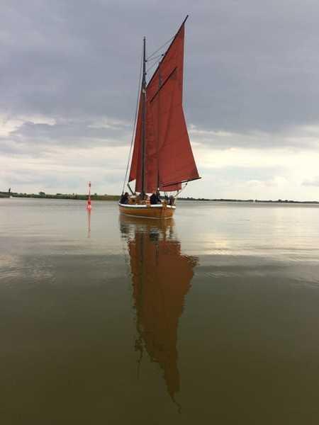 Zeesboot - altes Fischerboot