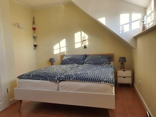Sonniges Schlafzimmer...