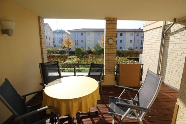 Terrasse sit Sitzgelegenheiten