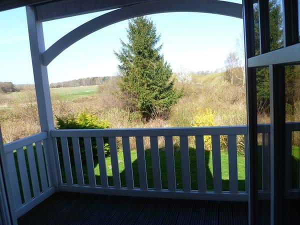 Blick auf Großen Balkon 1