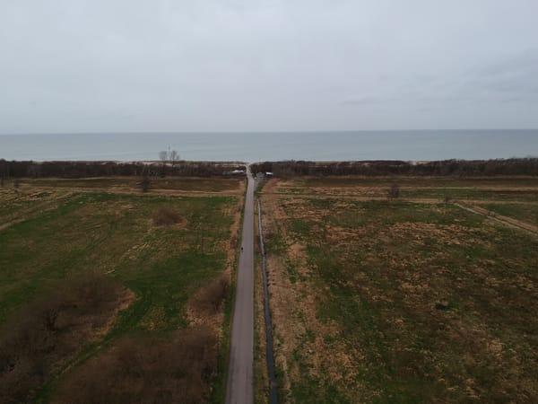 Blick Mittelweg, Richtung Ostsee