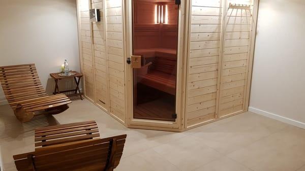 Ferienwohnung Rügen 1 Saunabereich