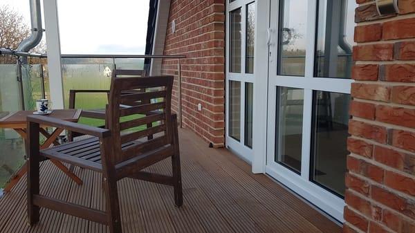 Fewo Rügen 1 Balkon