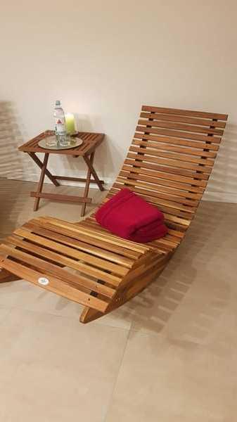 Ferienwohnung Rügen 2 Saunabereich
