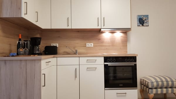 Küche mit neuer Siemens Austattung Ferienwohnung Rügen 2, Alt Reddevitz 108, 18586 Mönchgut