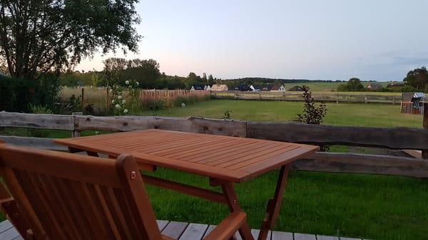 Ferienwohnung Rügen 2 Terrasse