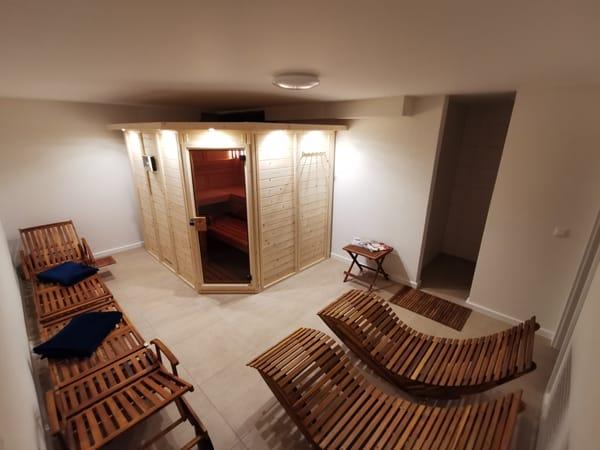 Sauna im Unterheschoß